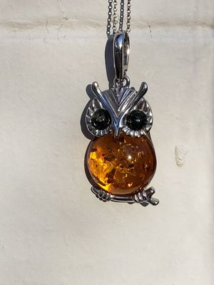 Amber Owl necklace for Sale in Washington, DC