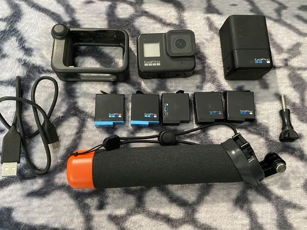 GoPro Hero 8 Black with media mod and extras