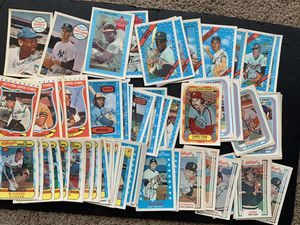 1970-1982 Kellogg's 3 D Baseball Cards 77 Total Cards with Stars Inc Willie Mays Ernie Banks for Sale in Placentia, CA