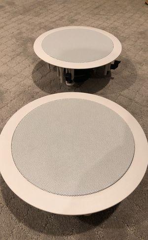 Klipsch R 1650-C In-Ceiling Speakers White for Sale in Denver, CO