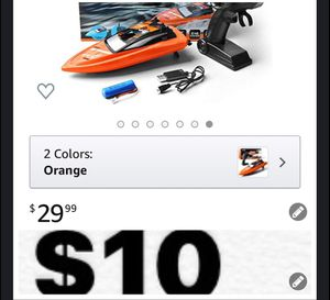 Brand new e Remote Control Boats for Pools and Lakes, 2.4GHz High Speed RC Boats for Kids, Adventure Racing Boat Toys for Boys for Sale in Southwest Ranches, FL