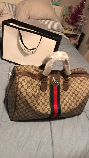 Gucci travel bag authentic for Sale in Santa Clara, CA
