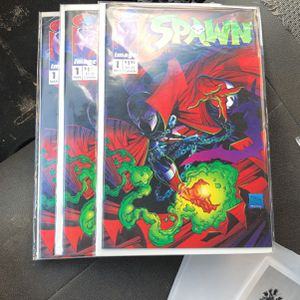 Three Spawn # 1's - Comic Investment? for Sale in Anaheim, CA