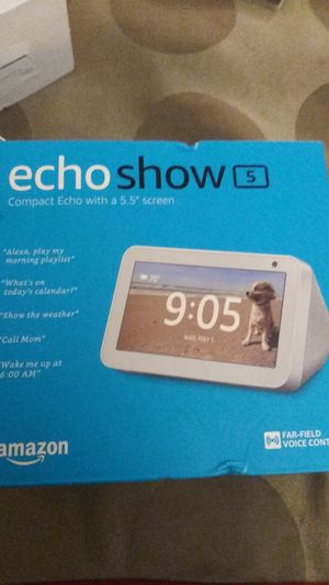 EchoShow5. Brand new. 50$ for Sale in Ontario, CA