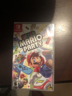 Super Mario Party for Nintendo switch for Sale in Stockton, CA