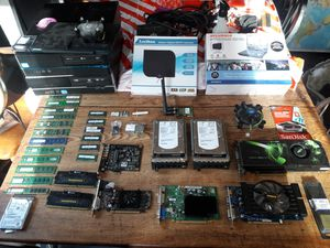 Computer parts, systems, i3, i5, ddr3, video cards for Sale in Scituate, RI