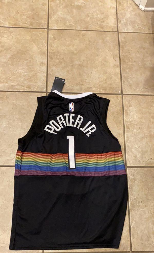 Brand new NBA Nike Michael Porter Jr Jersey XL Denver nuggets black city edition