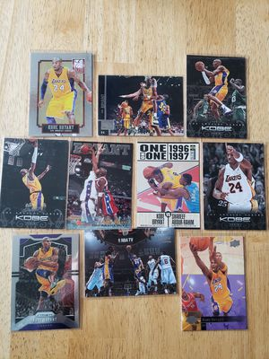 Kobe Bryant Lakers NBA basketball cards for Sale in Gresham, OR