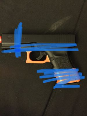 Airsoft/nerf gun ⚠️ NOT A REAL GUN⚠️ for Sale in Upland, CA