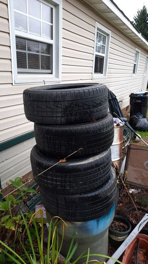 17 inch tires 4 of them for $125 good tires for Sale in Gastonia, NC