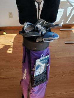 Trilogy Golf Clubs, Putters, Bag, Balls & Gloves for Sale in Springfield,  IL