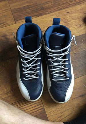 Jordan 12 Obsidian size 10.5 mens us used quicksell for Sale in Chandler, AZ