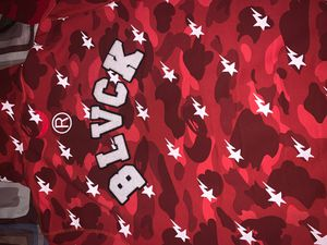 Bape Shark red Hood size large 10000% authentic and Bape X Coca Kola trucker for Sale in Bay Shore, NY