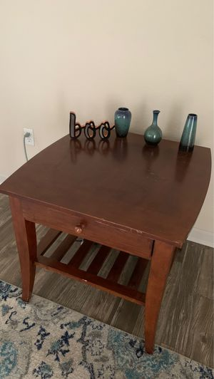Wooden coffee table set for Sale in Dade City, FL