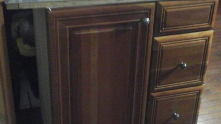 Bathroom Cabinet With Sink+faucet for Sale in Silver Spring,  MD