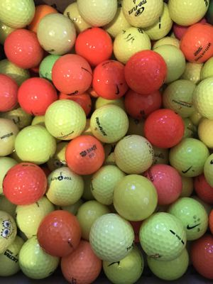 Mixed Colored Golf Ball for Sale in Mill Creek, WA