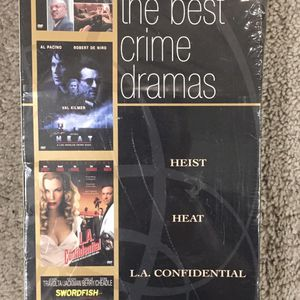 Heist, Heat, L.A. Confidential, Swordfish DVD Collection for Sale in Canton, GA
