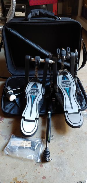 Mapex Falcon double pedal for bass drum with case for Sale in Anaheim, CA