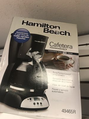 Cafetera 12 tasas/coffee maker 12 cups for Sale in Hialeah, FL