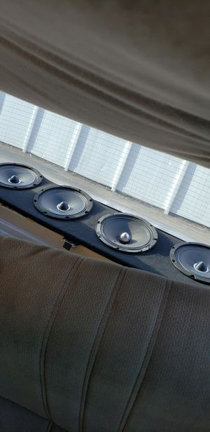 "Audio 4 Speaker 8"" with panel for Sale in Orlando, FL"