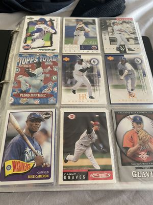 Baseball cards - childhood collection for Sale in Tampa, FL