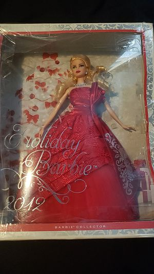 2012 Holiday Barbie Collectible Red Dress Barbie for Sale in Santa Ana, CA