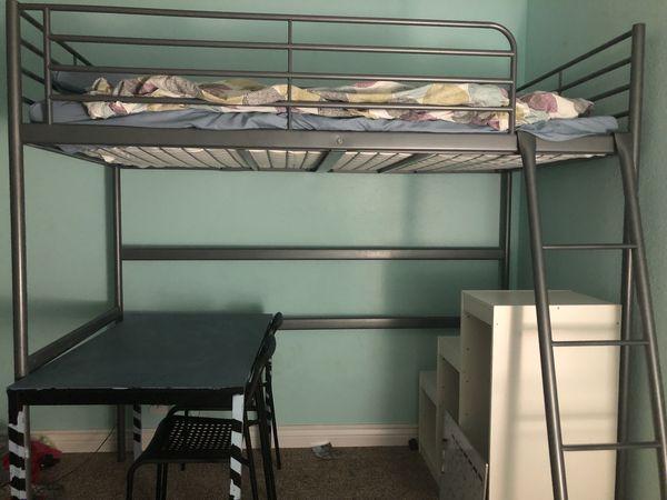 IKEA Kid's Bunk Bed Silver
