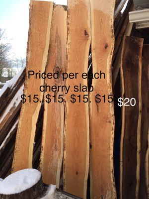 Cherry slabs for Sale in Elmira, NY