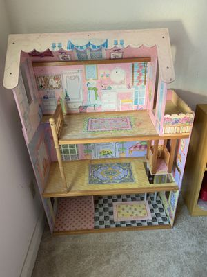 Doll house with stuff for Sale in Manteca, CA