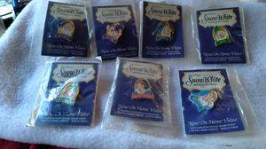 Walt Disney's Snow White and 7 Dwarfs pins for Sale in Bradenton, FL