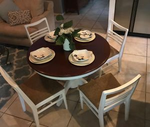 Farmhouse dining table set for Sale in Houston, TX