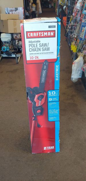 Craftsman 071-43983 7' 9 Amp Corded 2-in-1 Saw for Sale in Tulsa, OK