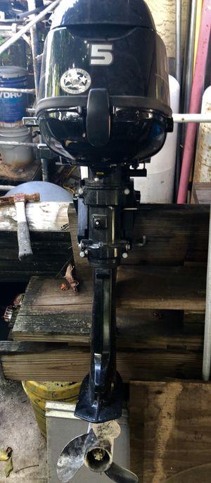 "Mercury 5 Hp 4 stroke Outboards 15 "" shaft Boat Engine for Sale in Plantation, FL"