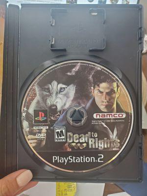Dead to Rights PS2 for Sale in Miami, FL