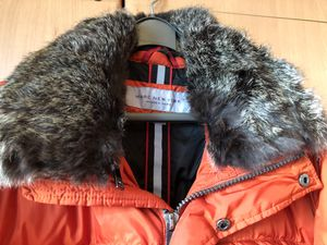 Marc New York Andrew Marc Dark Orange Down Jacket Size L for Sale for sale  Queens, NY