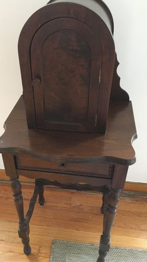 Extremely rare antique telephone cabinet for Sale in Hinsdale, IL