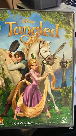 Brand new sealed tangled dvd Disney for Sale in Hacienda Heights, CA
