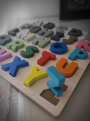 Wood Alphabet puzzle for Sale in Palm City, FL