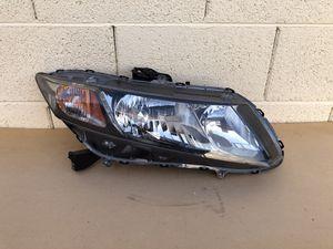 2012, 2013, 2014, 2015 Honda Civic Headlight,Passenger Side for Sale in Glendale, AZ