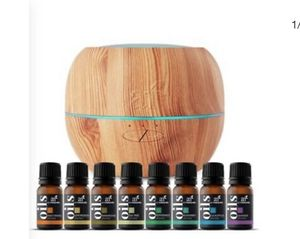 Humidifier and oil diffuser with 8 essential oils included for Sale in Los Angeles, CA
