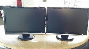 "Samsung Dual Monitors 19"" for Sale in Las Vegas, NV"