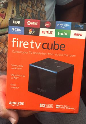 Fire tv cube for Sale in Lynwood, CA