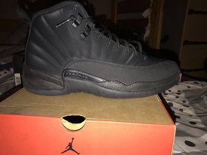 Jordan 12s black out/WNTR for Sale in Columbus, OH