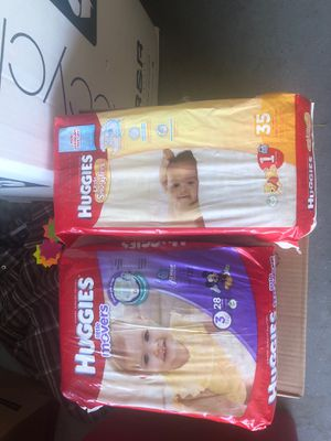 Huggies Diapers $6 or 2x $10 for Sale in San Jacinto, CA