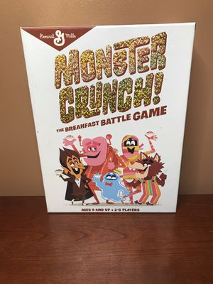 Monster Crunch The Breakfast Battle Game for Sale in Salisbury, MD