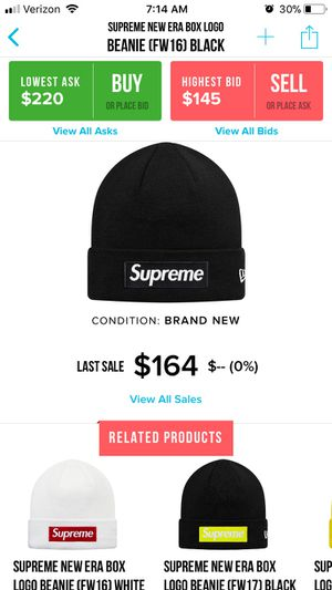 2a7fab9b26788 New and Used Supreme beanie for Sale in Mukilteo