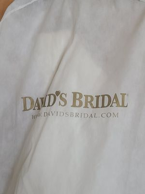 Wedding dress davids bridal size 12 for Sale in Valley View, OH