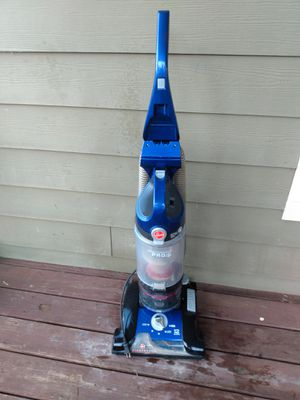 Hoover bagless wind tunnel blue vacuum cleaner for Sale in College Park, GA