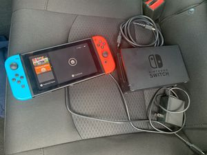 Nintendo Switch With Screen Protector for Sale in Houston, TX