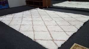 Large Display Model Gertmenian Shag Area Rug - Delivery Available for Sale in Tacoma, WA